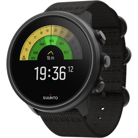 Suunto 9 Baro Titanium Watch, charcoal